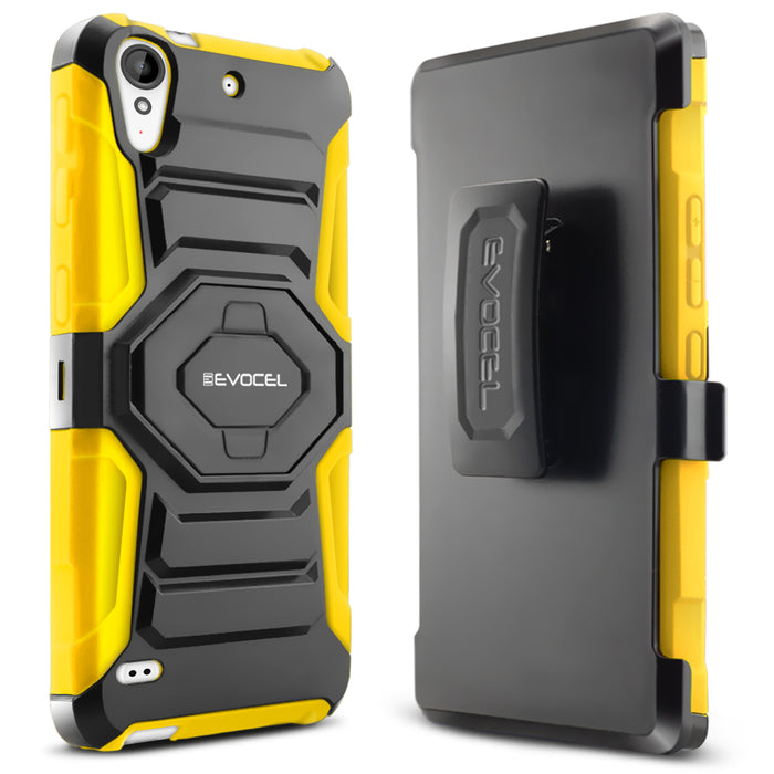 Evocel HTC Desire 530 New Generation Series Yellow Case