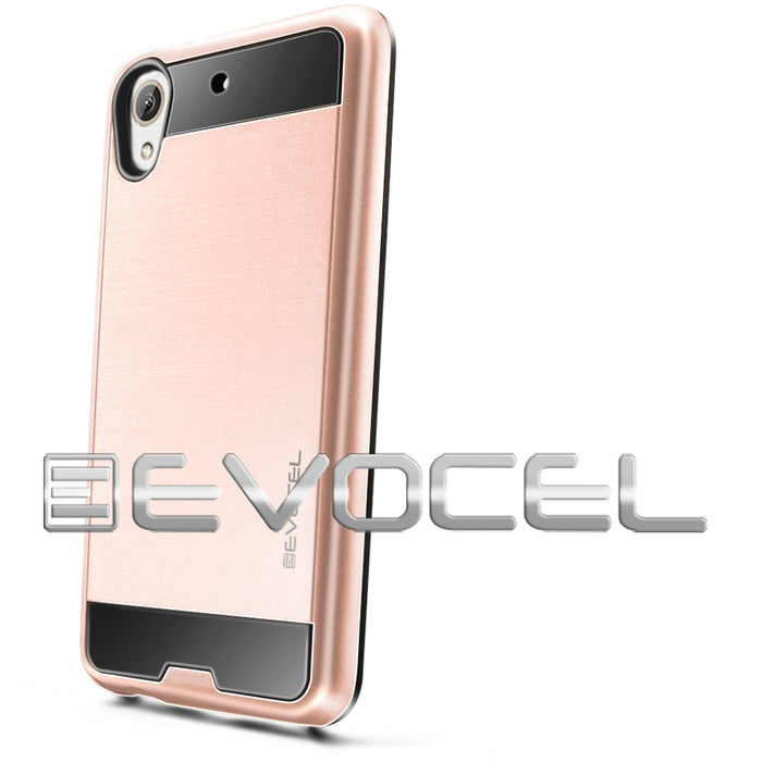 Evocel HTC Desire 626 Hybrid Lite Series Rose Gold Case