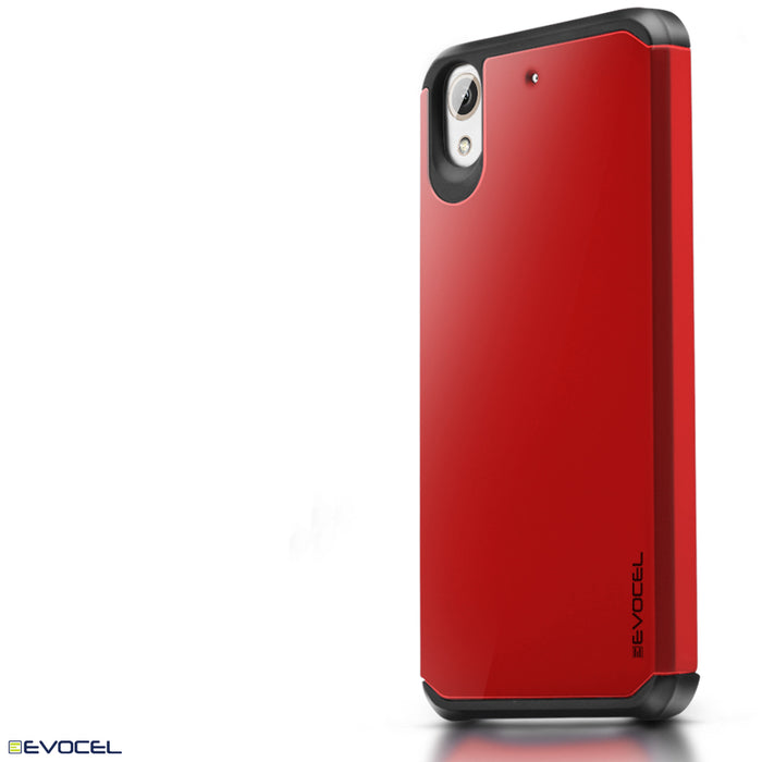 Evocel HTC Desire 626 Armure Series Red Case