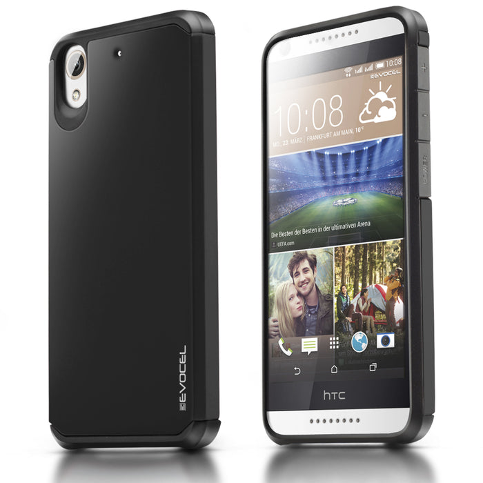 Evocel HTC Desire 626 Armure Series Black Case