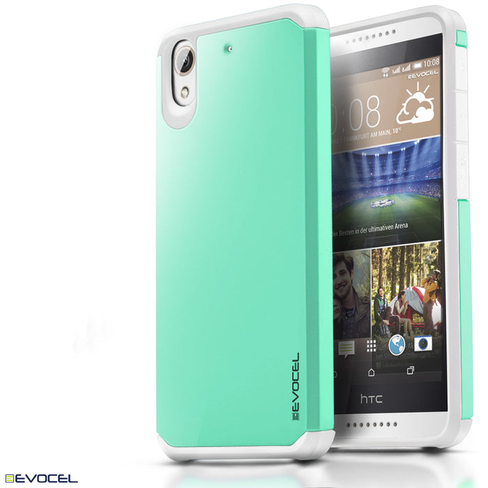 Evocel HTC Desire 626 Armure Series Green Case