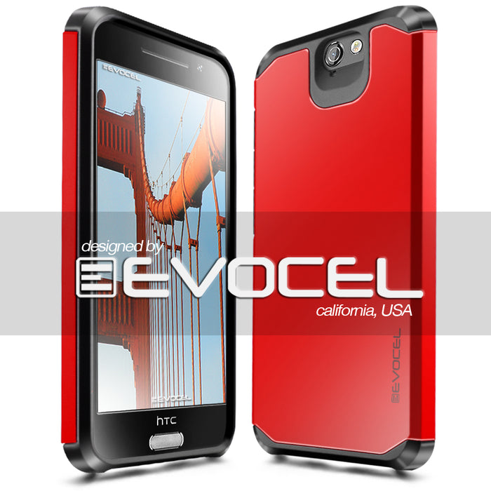 Evocel HTC Desire A9 Armure Series Red Case