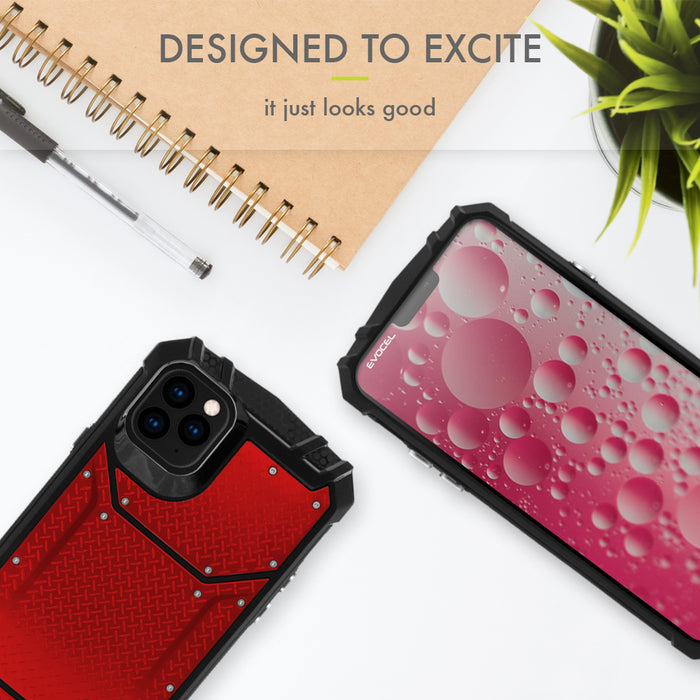 "Evocel Apple iPhone 11 Pro (5.8"") Magnext Series Red Case"