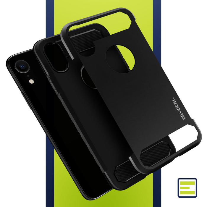 Evocel Apple iPhone XR Dual Lite Series Black Case