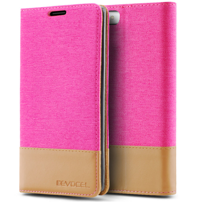 Evocel Apple iPhone 8 / iPhone 7 Folio Series Pink Case
