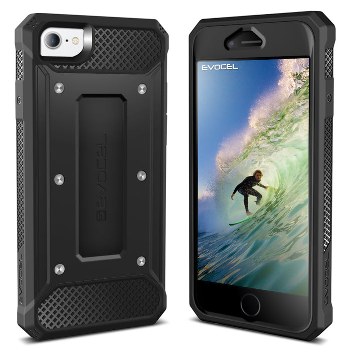 Evocel Apple iPhone 8 / iPhone 7 Explorer Series Black Case