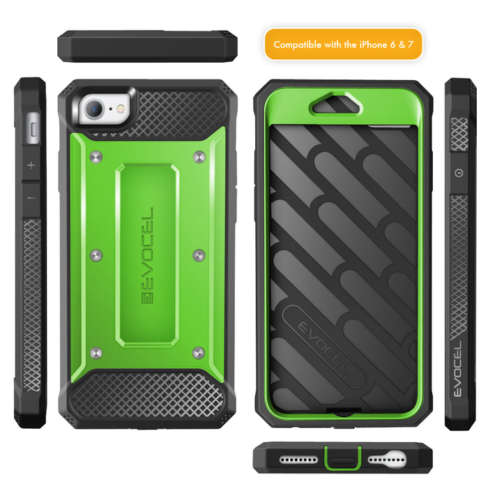 Evocel Apple iPhone 8 / iPhone 7 Explorer Series Green Case