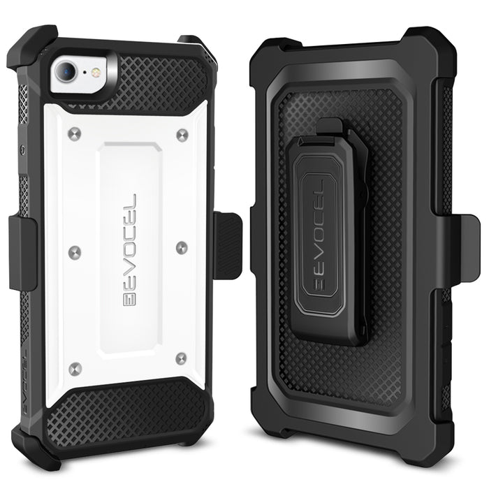 Evocel Apple iPhone 8 / iPhone 7 Explorer Series White Case