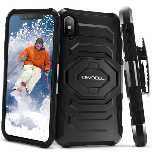 Evocel Apple iPhone X New Generation Series Black Case
