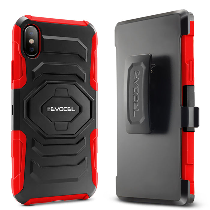 Evocel Apple iPhone X New Generation Series Red Case