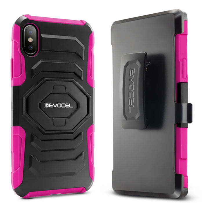Evocel Apple iPhone X New Generation Series Pink Case
