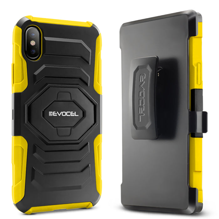 Evocel Apple iPhone X New Generation Series Yellow Case