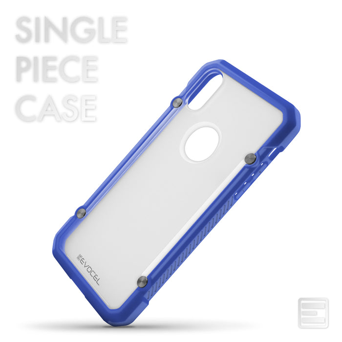Evocel Apple iPhone X 2K Series Blue Case