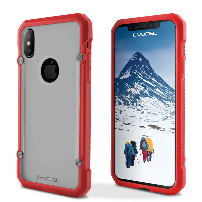 Evocel Apple iPhone X 2K Series Red Case