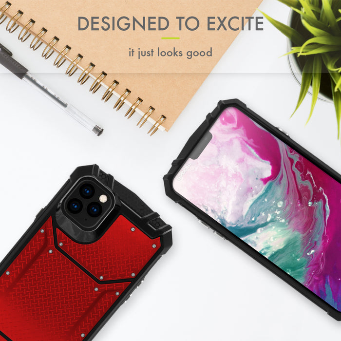 "Evocel Apple iPhone 11 Pro Max (6.5"") Magnext Series Red Case"