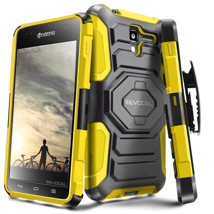 Evocel Kyocera Hydro View New Generation Series Yellow Case
