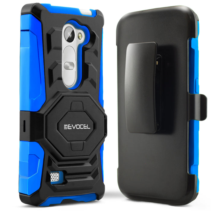Evocel LG Leon New Generation Series Blue Case