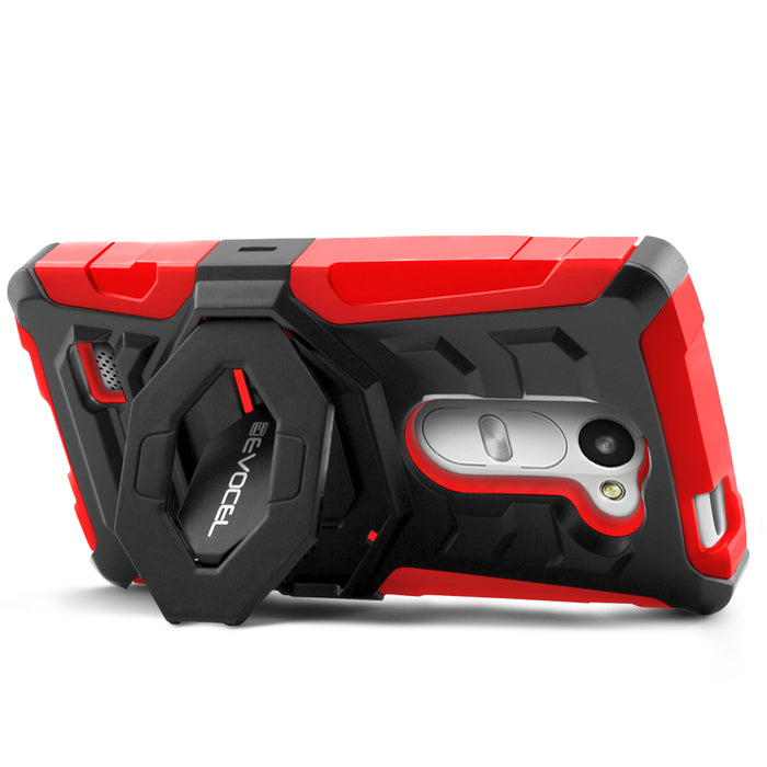 Evocel LG Leon New Generation Series Red Case