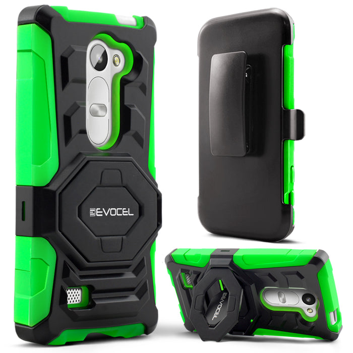 Evocel LG Leon New Generation Series Green Case