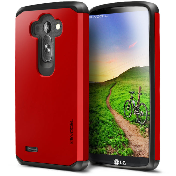 Evocel LG G4 Armure Series Red Case