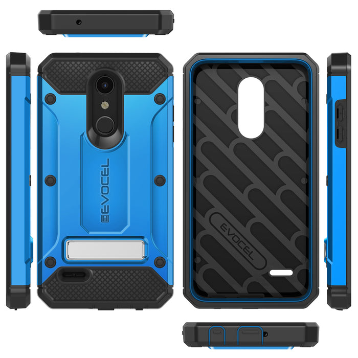 Evocel LG K30 / K10 (2018) Explorer Series Pro Blue Case