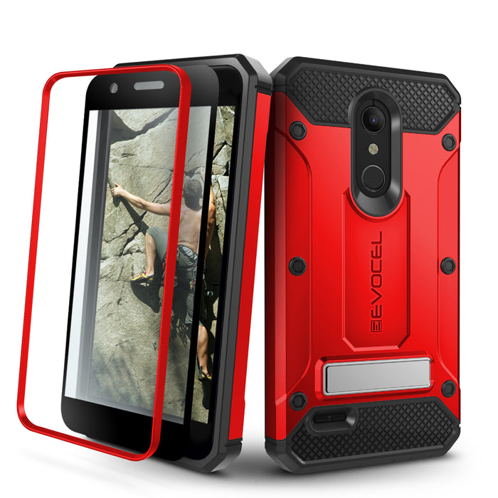 Evocel LG K30 / K10 (2018) Explorer Series Pro Red Case