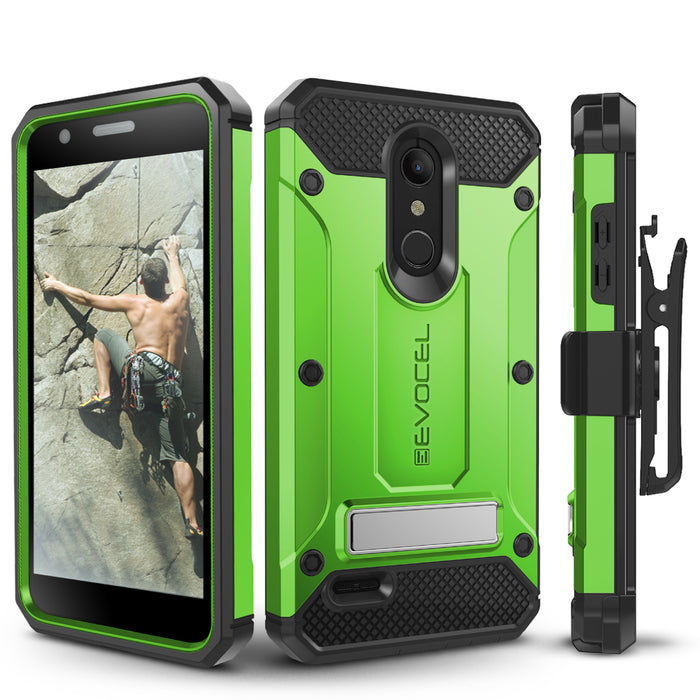 Evocel LG K30 / K10 (2018) Explorer Series Pro Green Case