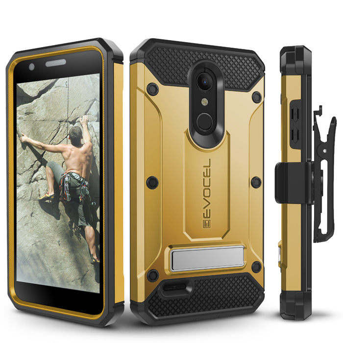Evocel LG K30 / K10 (2018) Explorer Series Pro Gold Case