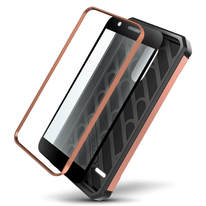 Evocel LG K30 / K10 (2018) Explorer Series Pro Rose Gold Case
