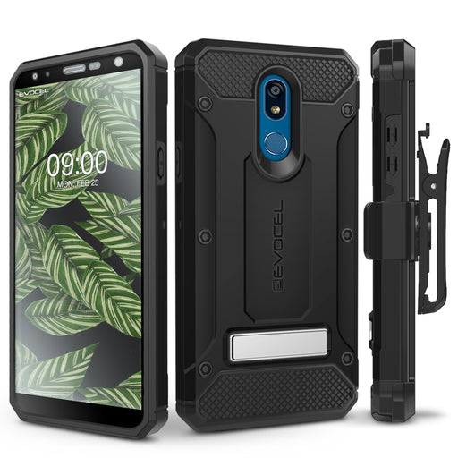 Evocel LG K40 Explorer Series Pro Black Case