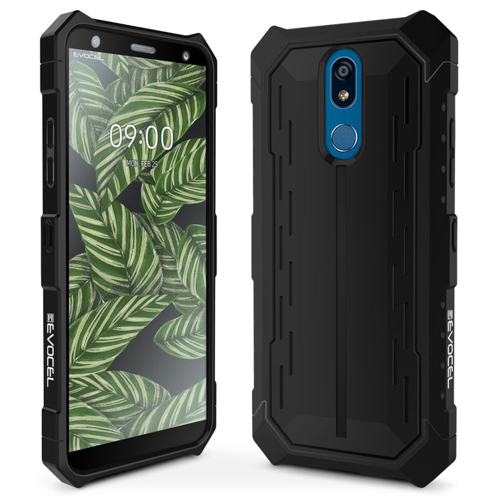 Evocel LG K40 Heavy Core Series Black Case