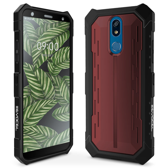 Evocel LG K40 Heavy Core Series Red Case