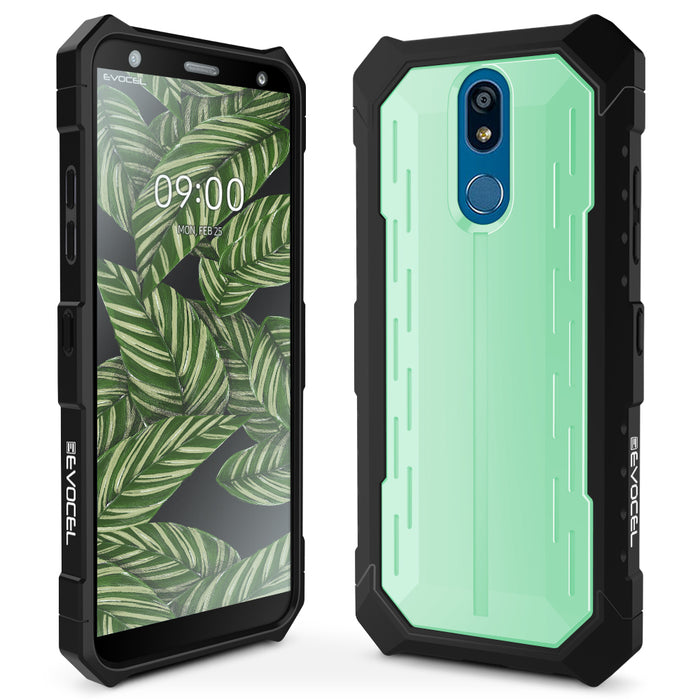 Evocel LG K40 Heavy Core Series Wintergreen Case