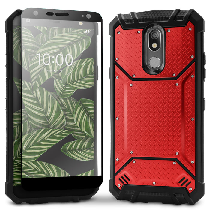 Evocel LG K40 Magnext Series Red Case
