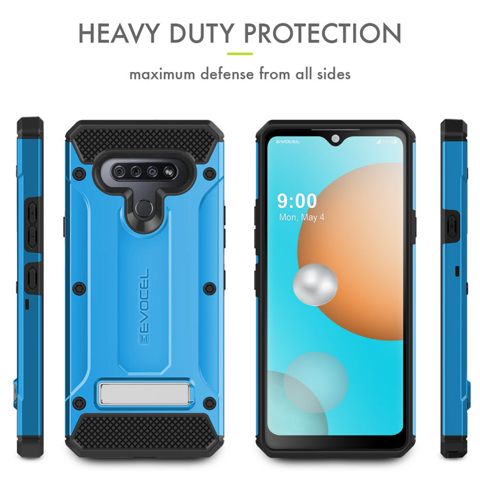 Evocel LG K51 Explorer Series Pro Blue Case