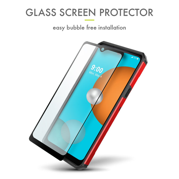 Evocel LG K51 Explorer Series Pro Red Case