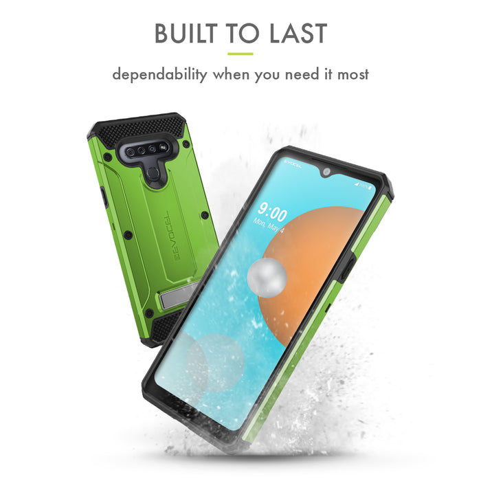 Evocel LG K51 Explorer Series Pro Green Case