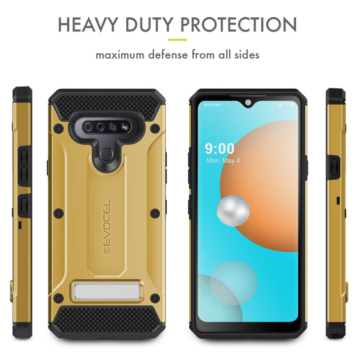 Evocel LG K51 Explorer Series Pro Gold Case