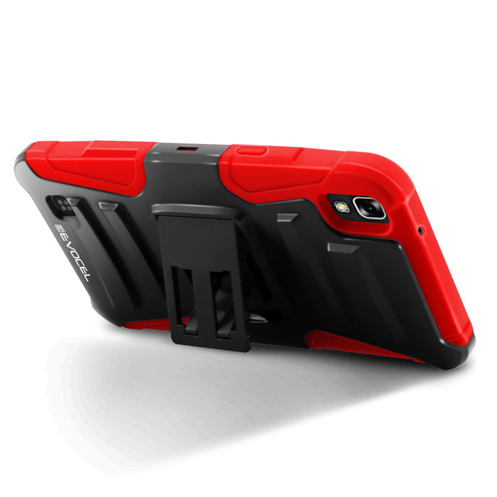Evocel LG X Power Generation Series Red Case