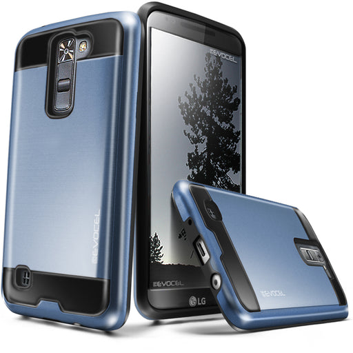 Evocel LG Tribute 5 Hybrid Lite Series Blue Case