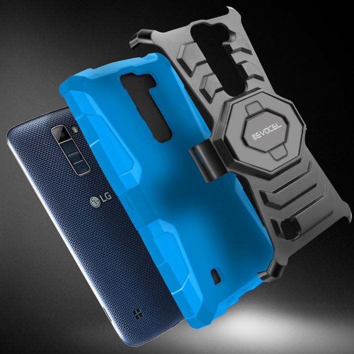 Evocel LG Tribute 5 New Generation Series Blue Case