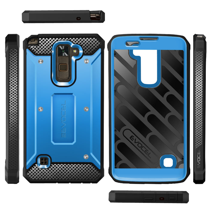 Evocel LG Stylo 2 Plus Explorer Series Blue Case