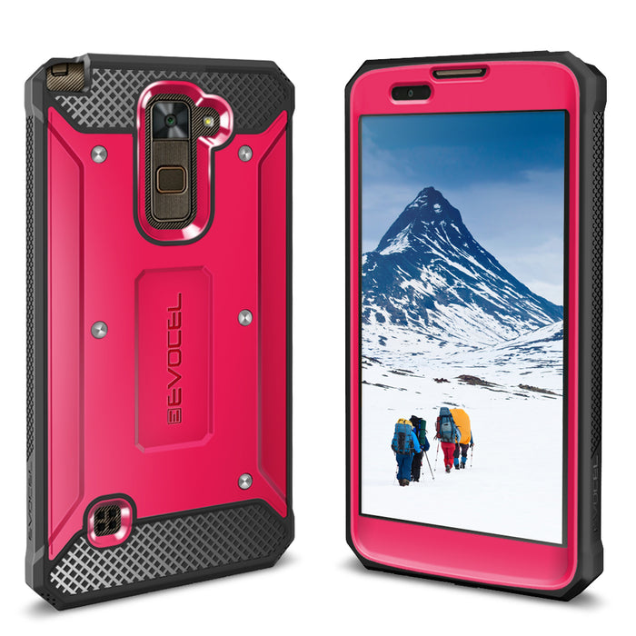 Evocel LG Stylo 2 Plus Explorer Series Pink Case