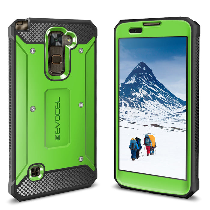 Evocel LG Stylo 2 Plus Explorer Series Green Case