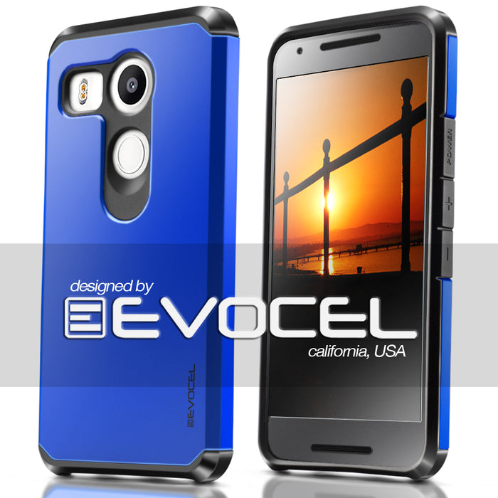 Evocel LG Nexus 5x Armure Series Blue Case