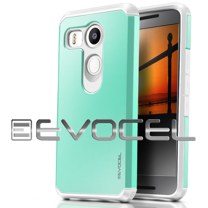 Evocel LG Nexus 5x Armure Series Brilliant Green Case