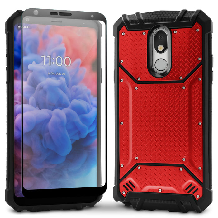 Evocel LG Stylo 5 Magnext Series Red Case