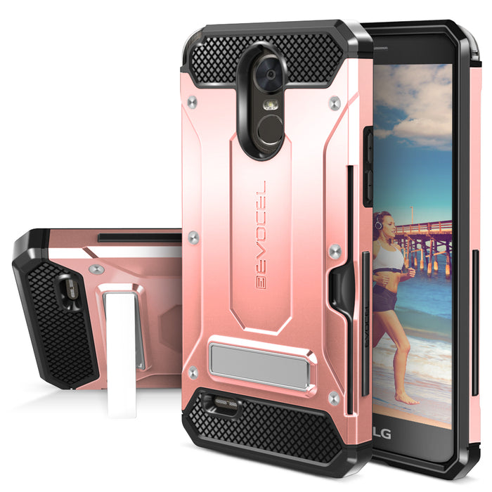 Evocel LG Stylo 3 Explorer Series Pro Rose Gold Case