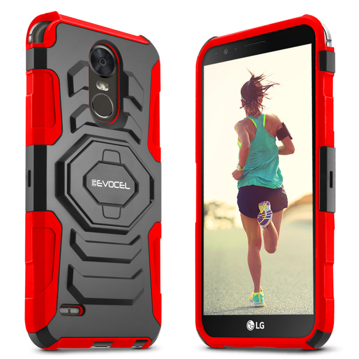 Evocel LG Stylo 3 New Generation Series Red Case