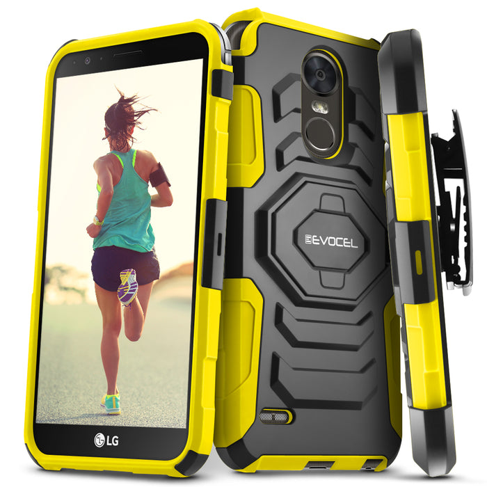 Evocel LG Stylo 3 New Generation Series Yellow Case
